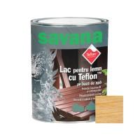 Lac pentru lemn Savana, incolor, pe baza de apa, interior / exterior, 0.75 L