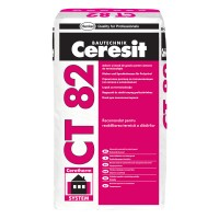Adeziv polistiren Ceresit CT 82, interior / exterior, 25 kg