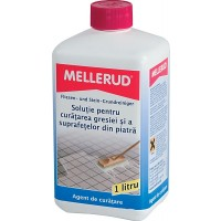 Solutie de curatat gresie si suprafete din piatra, Mellerud, 1 L