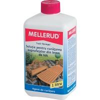 Solutie de curatat lemnul de tek, Mellerud, 1 L