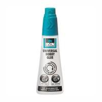 Adeziv pentru suprafete multiple, interior / exterior, Bison Universal Hobby, transparent, 95 ml