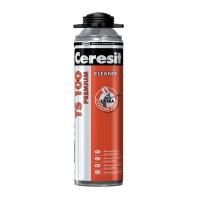 Agent de curatare spuma poliuretanica neintarita, Ceresit TS 100 Premium Cleaner, 500 ml