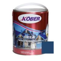 Vopsea alchidica pentru lemn / metal, Kober Ideea, interior / exterior, albastru mediu, 4 L