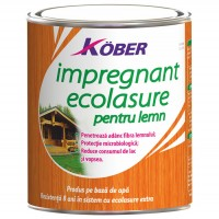Impregnant pentru lemn Kober Ecolasure IG 8000, pe baza de apa, interior/exterior, 4 L