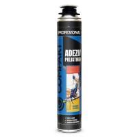 Adeziv poliuretanic pentru polistiren Compakt, aplicare piston, interior / exterior, 750 ml