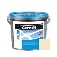 Chit de rosturi gresie si faianta Ceresit CE 40, sahara, interior / exterior, 5 kg