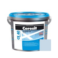 Chit de rosturi gresie si faianta Ceresit CE 40, sky, interior / exterior, 5 kg