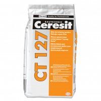 Glet pentru finisaje fine, pe baza de ciment. Ceresit CT 127, interior, 5 kg