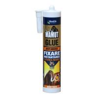 Adeziv pentru suprafete multiple, interior / exterior, Mamut Glue High Tack, alb, 290 ml