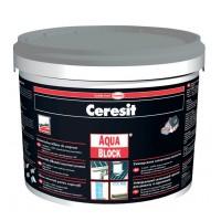 Pasta hidroizolanta Ceresit Aquablock negru 5 kg