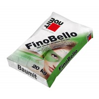 Glet de finisaj Baumit FinoBello, pe baza de ipsos, interior, 20 kg