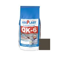 Chit de rosturi gresie si faianta Adeplast Quarz Kit QK - 6, gri inchis, interior / exterior, 2 kg