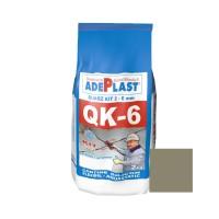 Chit de rosturi gresie si faianta Adeplast Quarz Kit QK - 6, gri deschis, interior / exterior, 2 kg