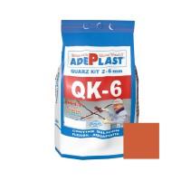 Chit de rosturi gresie si faianta Adeplast Quarz Kit QK - 6, caramiziu inchis, interior / exterior, 5 kg
