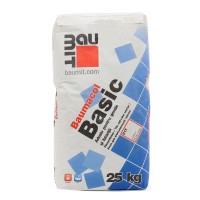 Adeziv pentru gresie si faianta Baumit Baumacol Basic, interior, gri, 25 kg