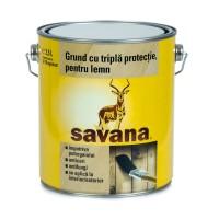Grund pentru lemn, Savana, incolor, 2.5 L