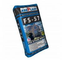 Adeziv piatra naturala Adeplast FS - 57, alb, pentru interior / exterior, 25 kg