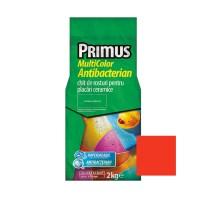 Chit de rosturi gresie si faianta Primus Multicolor Antibacterian B31 rich in red, interior / exterior, 2 kg