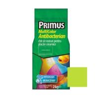 Chit de rosturi gresie si faianta Primus Multicolor Antibacterian B35 apple green, interior / exterior, 2 kg