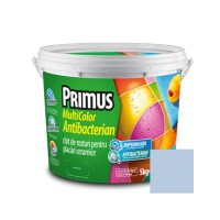 Chit de rosturi gresie si faianta Primus Multicolor Antibacterian B26 adriatic blue, interior / exterior, 5 kg