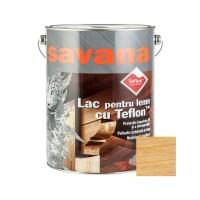 Lac pentru lemn Savana cu Teflon, incolor, interior / exterior, 5 L