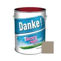 Vopsea alchidica pentru lemn / metal, Danke, exterior, cafenie, 4 L