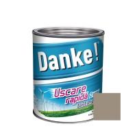 Vopsea alchidica pentru lemn / metal, Danke, exterior, cafenie, 0.75 L