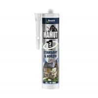 Adeziv pentru suprafete multiple, flexibil, interior / exterior, Mamut Universal 2 in 1, alb, 290 ml