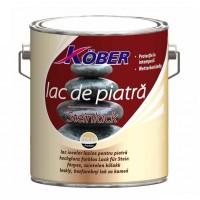 Lac pentru piatra Kober Ideal, interior / exterior, transparent, 10 L