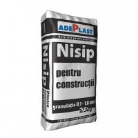 Nisip pentru constructii, Adeplast, gri, interior / exterior, 25 kg