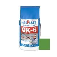 Chit de rosturi gresie si faianta Adeplast Quarz Kit QK - 6, verde G 57, interior / exterior, 2 kg