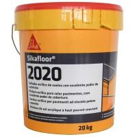 Acoperire sigilanta, din acril, Sika Sikafloor - 2020, gri, in dispersie apoasa, 20 kg