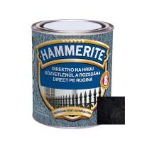 Vopsea alchidica pentru metal Hammerite - lovitura de ciocan, interior / exterior, neagra, 2.5 L