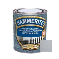 Vopsea alchidica pentru metal Hammerite - lovitura de ciocan, interior / exterior, argintie, 2.5 L