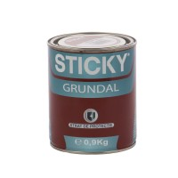 Grund pentru metal, Sticky Grundal, interior / exterior, rosu oxid, 0.9 KG