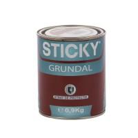 Grund pentru metal, Sticky Grundal, interior / exterior, gri, 0.9 KG