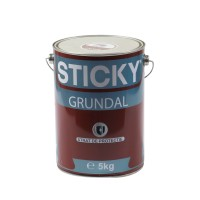 Grund pentru metal, Sticky Grundal, interior / exterior, rosu oxid, 5 KG