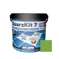 Chit de rosturi gresie si faianta Adeplast  QuarzKit 7, kiwi, interior / exterior, 5 kg