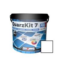 Chit de rosturi gresie si faianta Adeplast  QuarzKit 7, alb, interior / exterior, 5 kg