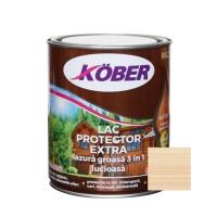 Lac / lazura groasa pentru lemn, Kober Extra 3 in 1, incolor, interior / exterior, 0.75 L
