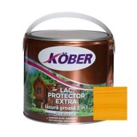 Lac / lazura groasa pentru lemn, Kober Extra 3 in 1, stejar, interior / exterior, 2.5 L