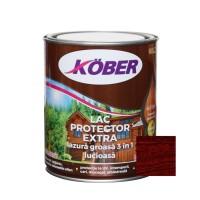 Lac / lazura groasa pentru lemn, Kober Extra 3 in 1, mahon, interior / exterior, 0.75 L