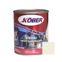 Vopsea alchidica pentru lemn / metal, Kober Ideea, interior / exterior, crem ivoire, 0.75 L