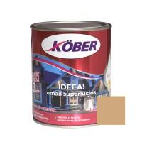 Vopsea alchidica pentru lemn / metal, Kober Ideea, interior / exterior, cafenie, 0.75 L