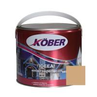 Vopsea alchidica pentru lemn / metal, Kober Ideea, interior / exterior, cafenie, 2.5 L