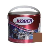 Vopsea alchidica pentru lemn / metal, Kober Ideea, interior / exterior, maro deschis, 2.5 L