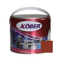 Vopsea alchidica pentru lemn / metal, Kober Ideea, interior / exterior, maro, 2.5 L