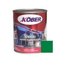 Vopsea alchidica pentru lemn / metal, Kober Ideea, interior / exterior, verde luminos, 0.75 L