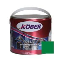 Vopsea alchidica pentru lemn / metal, Kober Ideea, interior / exterior, verde luminos, 2.5 L