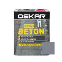 Vopsea acrilica Direct pe beton Oskar, exterior, gri antracit, 2.5 L